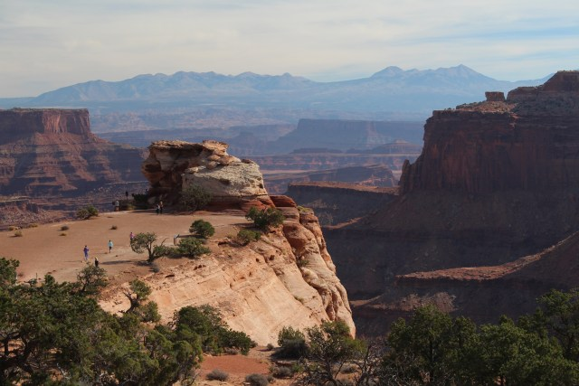 Layers in the distance at Canyonlands National Park, Utah