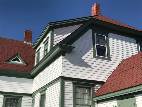 Shopkeeper's quarters turned museum at Portland Head Light