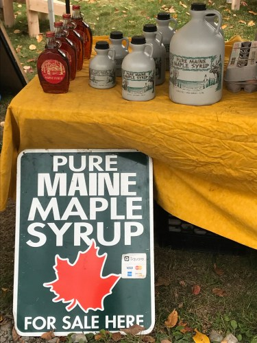 Maine Maple Syrup at Peninsula Fall Festival