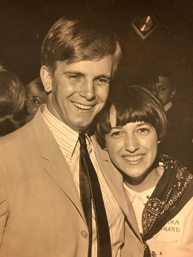 Dating:  ATO party in 1967.