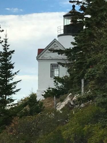 From the left side:  Bass Harbor Lighthouse, Mount Desert Island.