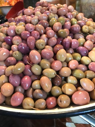 Rich, colorful olives