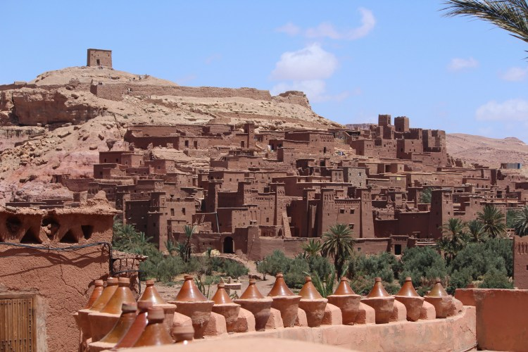Ait Ben Haddou is the site of numerous films, making it part of the Hollywood of Morocco.