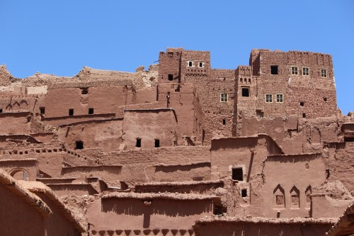 The mudbrick facade of Ait Ben Haddou has been used as a town backdrop for numerous movies.