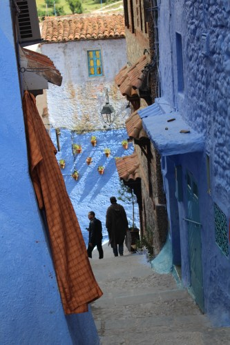 Best thing to do in Chefchaouen? Wander through the blue.