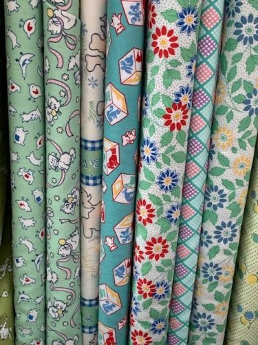 Colorful fabrics - Little Blessings