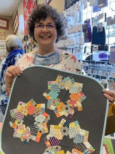 Carol Maha, owner of The Sewing Bee