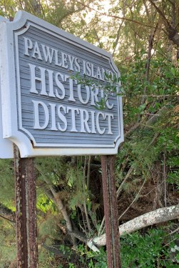 Historic District sign, Pawleys Island SC