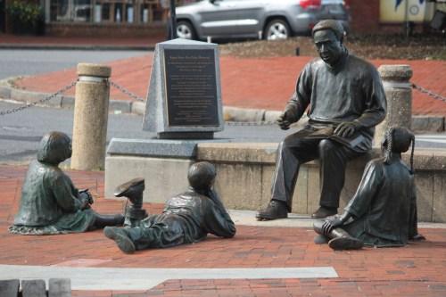 Kunte-Kinte - Alex Haley Memorial, Annapolis