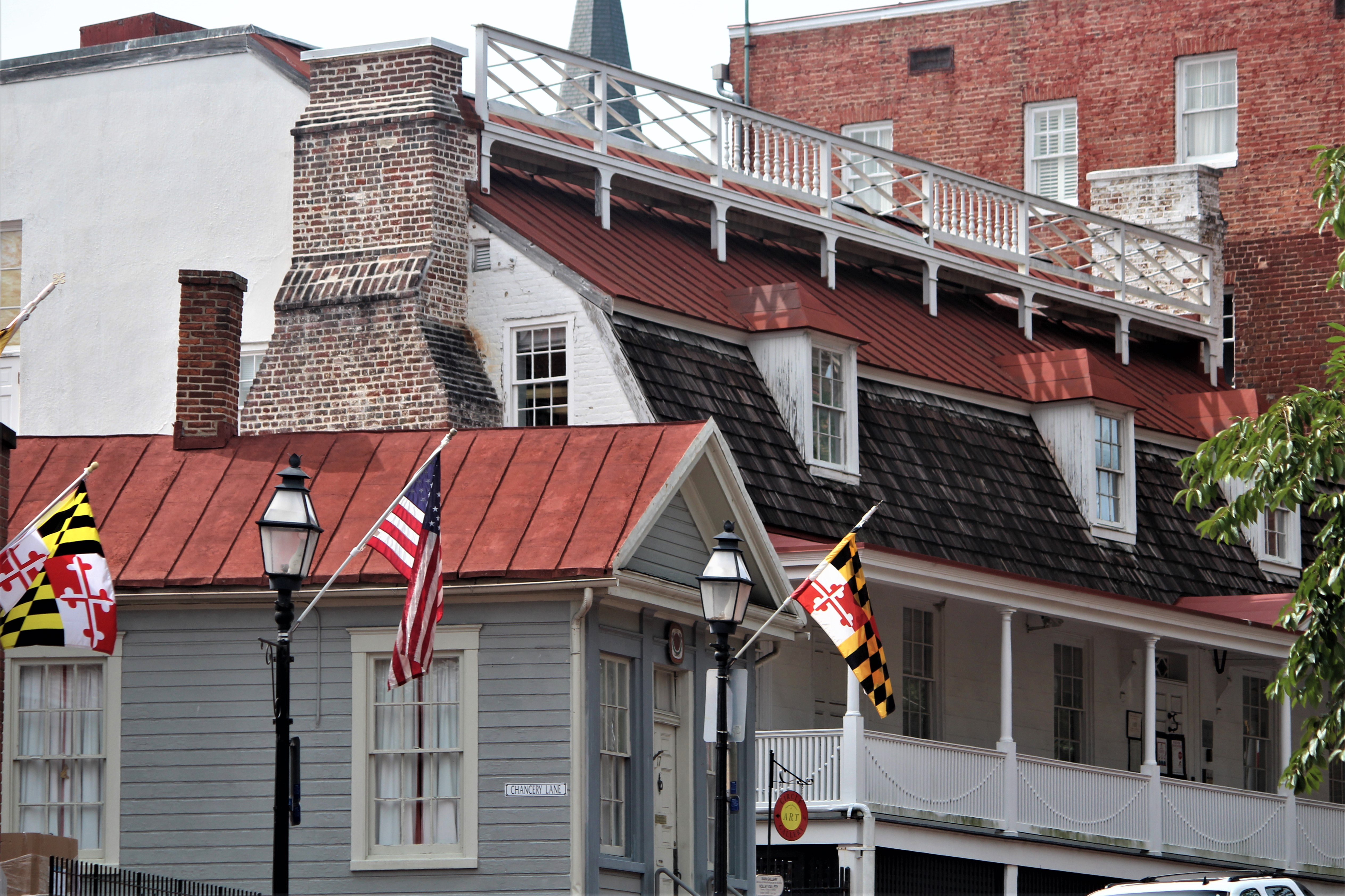Historic buildings of Annapolis MD