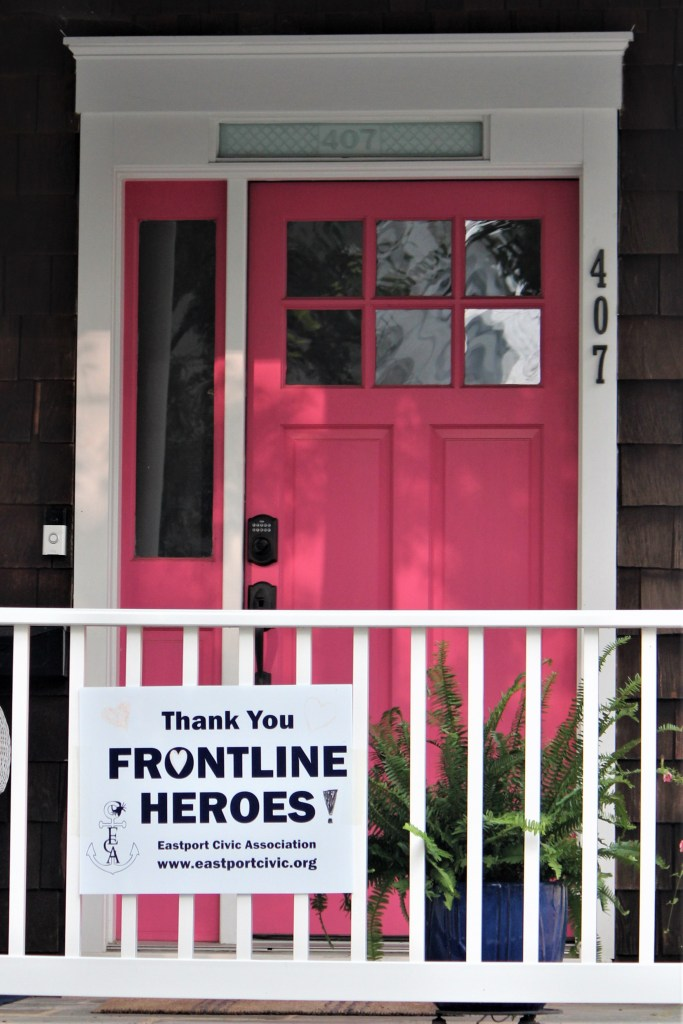 Pink door house, Annapolis MD