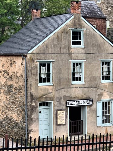 White Hall Tavern, Harpers Ferry WV