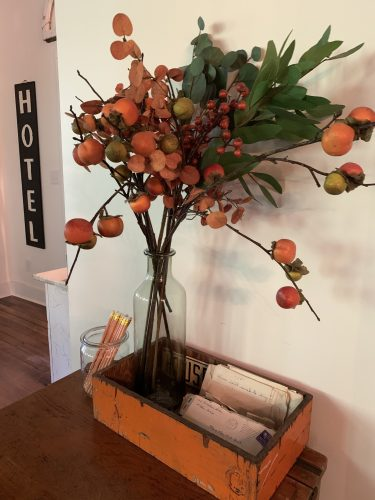 Fall decor -- My 100 Year Old Waco Home