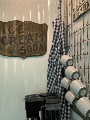 Coffee bar - My 100 Year Old Waco Home