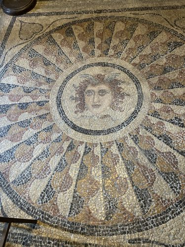 Medusa in Palace of Grand Masters, Rhodes