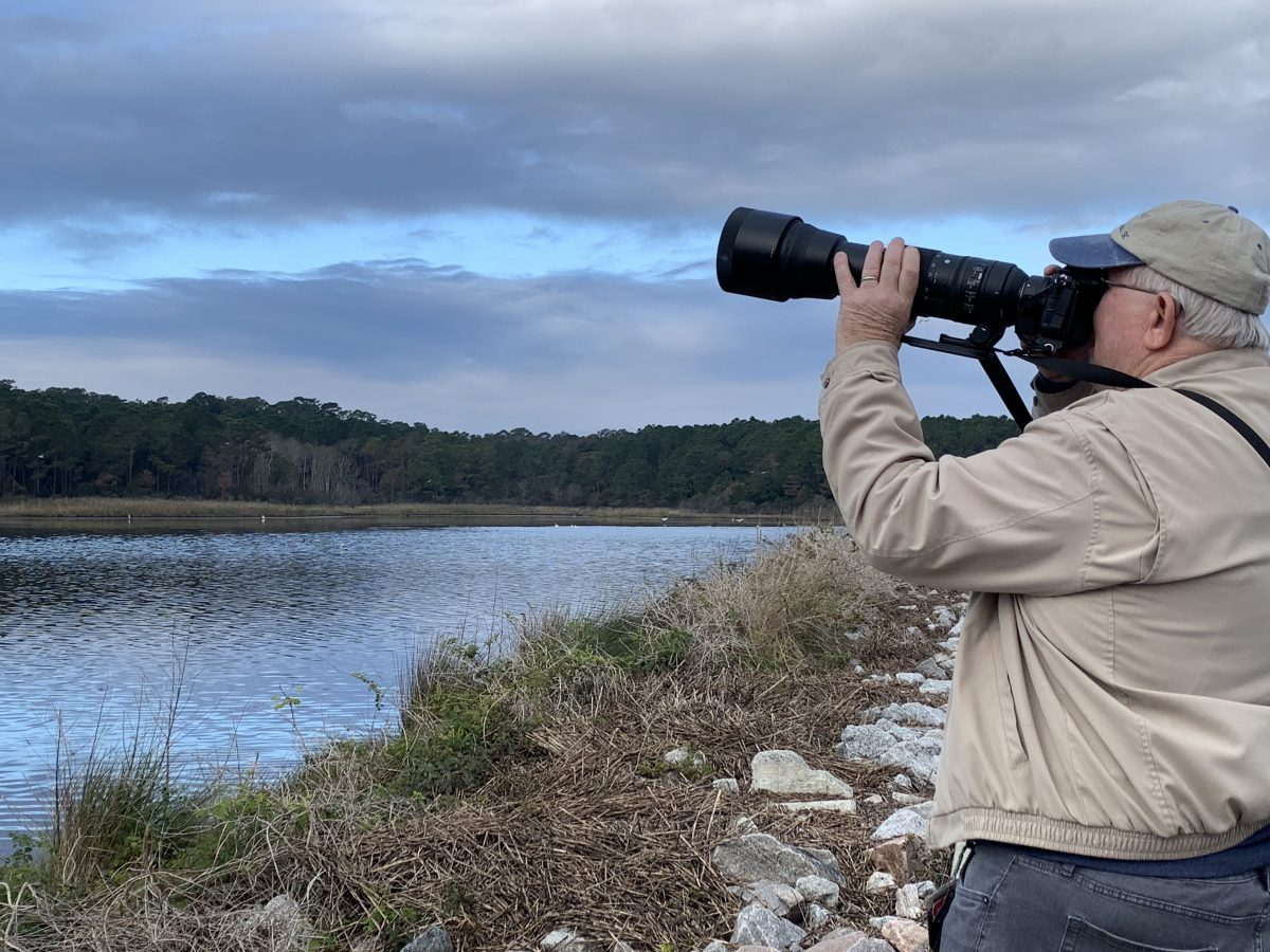 Bill Angell, photographer at Huntington Beach State Park
