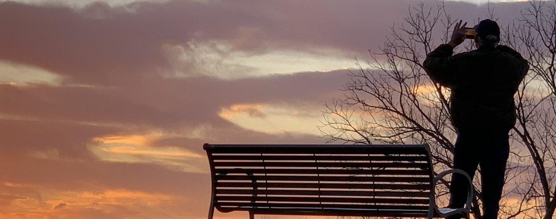 Sundown, Knoxville TN, Dec. 30, 2020