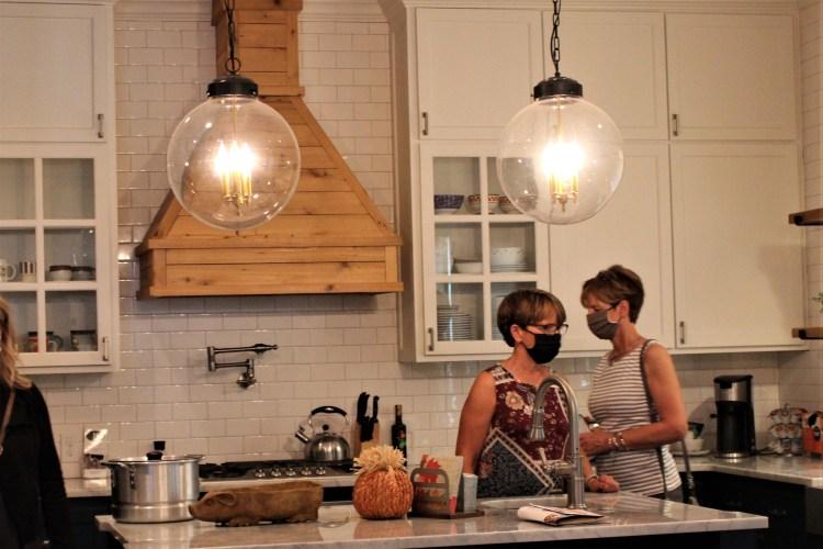 Kitchen in Fixer Upper home, Waco, Texas