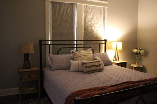 Bedroom, Fixer Upper home in Waco, Texas