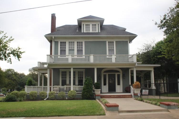 Clint Harp's home, Waco, Texas