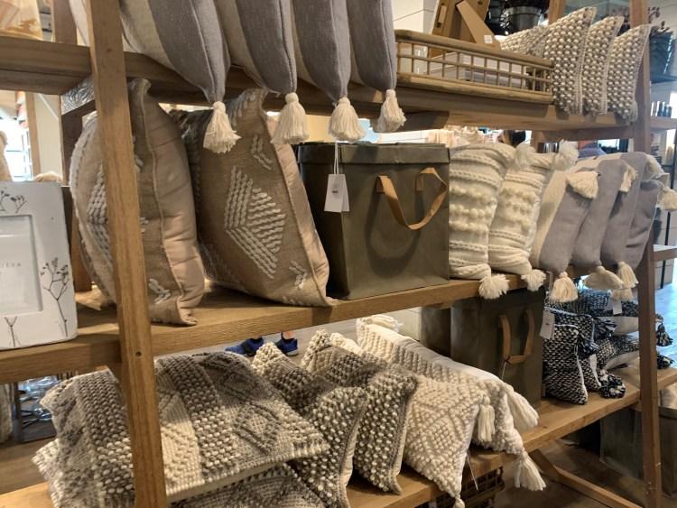 Woven pillows, Magnolia Market, Waco TX