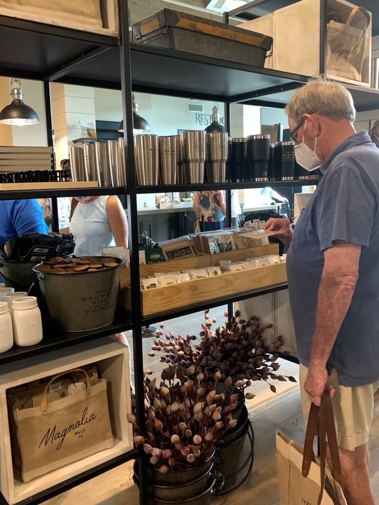 Shopping Magnolia Market, Waco TX