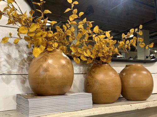 Magnolia Market gold vases, Waco TX