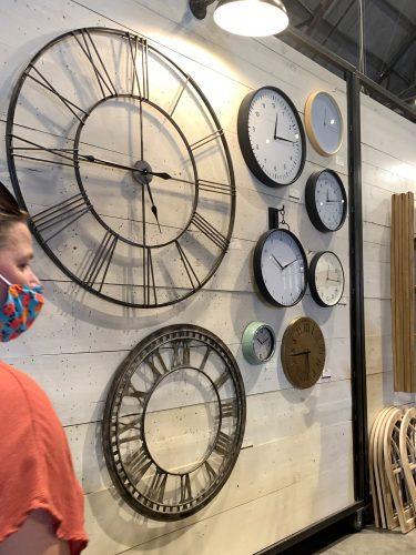 Wall clocks, Magnolia Market, Waco TX