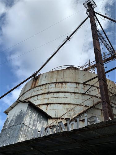 One of silos in Waco, TX, Chip & Joanna Gaines