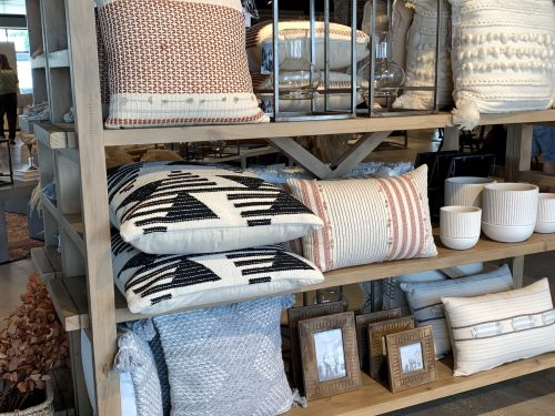 Decorative pillows, Magnolia Home, Waco TX, Joanna Gaines