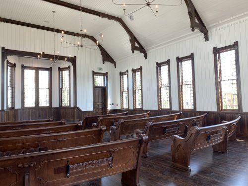 The Old Church, Waco, TX on Magnolia property