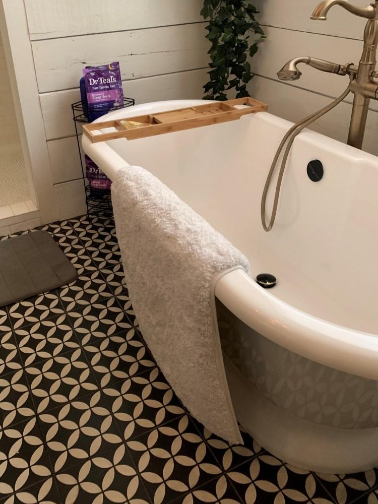 Bathroom, Fixer Upper home - Waco, Texas