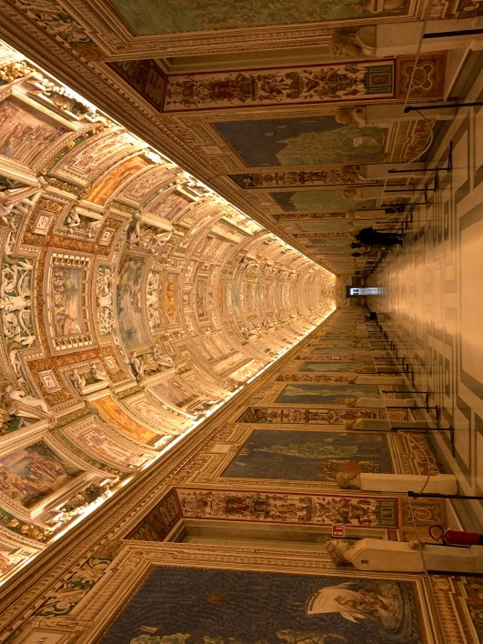 Hall of Maps, Vatican in Rome