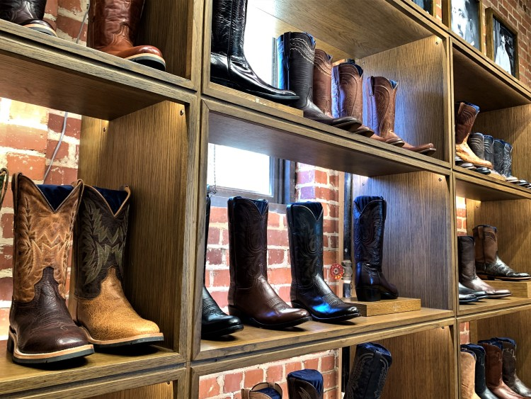 Lucchese boots, Ft. Worth Stockyards