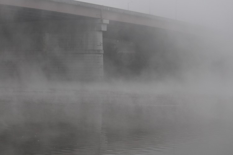 Knoxville fog at Loudon Lake