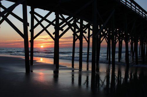 Pawleys Island Pier at sunrise