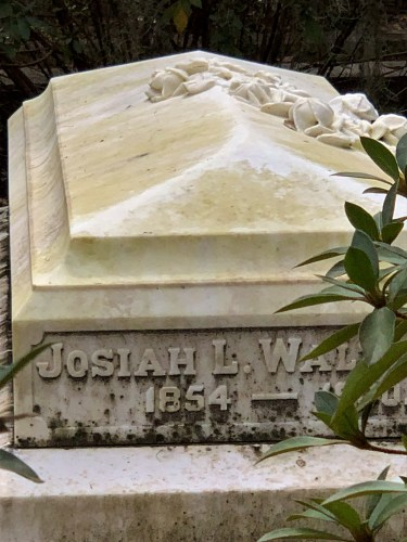 Bonaventure Cemetery, detail of grave