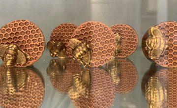 Honey Crunch Peanut Butter Cups, Chocolat by Adam Turoni, Savannah, GA