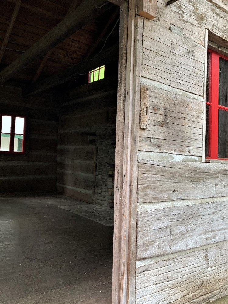 Inside Levi Trentham Cabin, Elkmont, Great Smoky Mountains