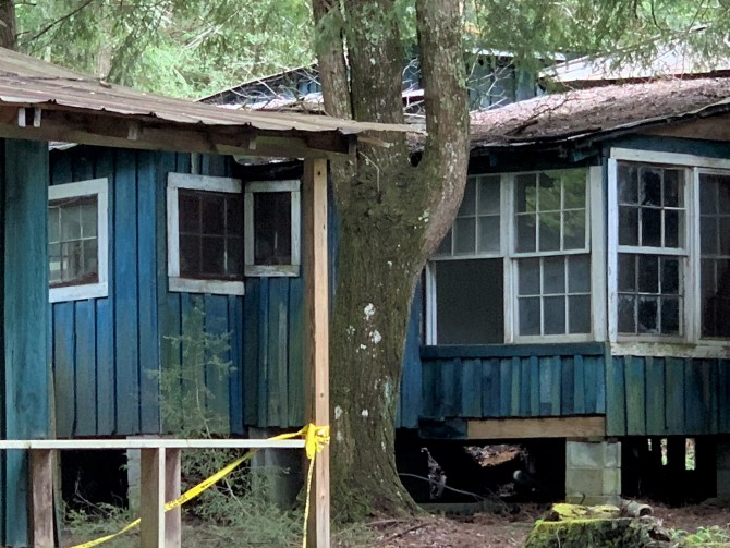 Elkmont Blue House, Great Smoky Mountains