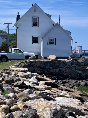 Home near Ocean Point, Maine