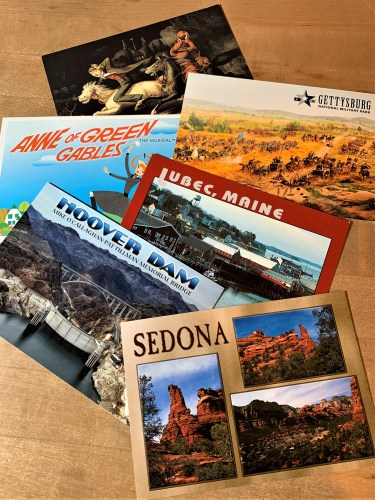 Postcards from Sams travels