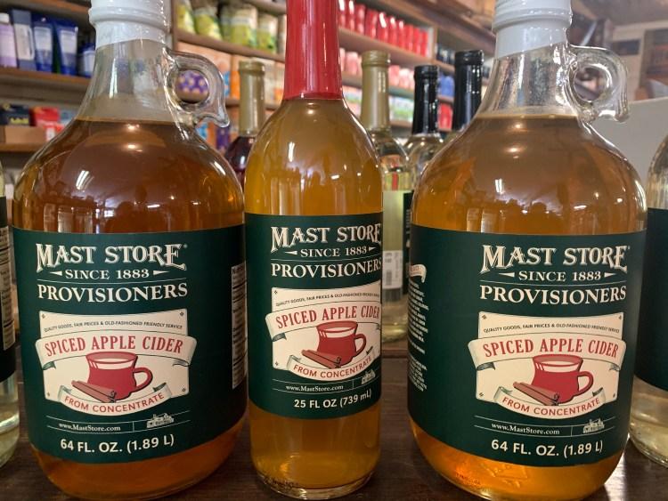 Apple Cider, Mast General Store, Valle Crucis, NC