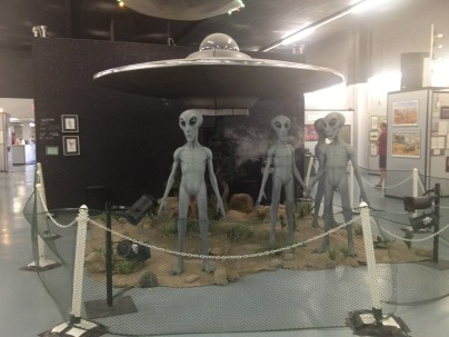 On display at Roswell, New Mexico museum