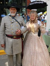 Gerald & Sandra Augustus -- Confederate general with his lady