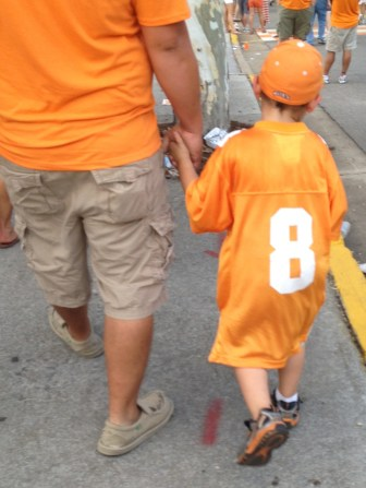 Vol fans come in all sizes.