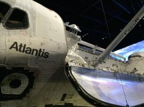 Inside Space Shuttle Atlantis