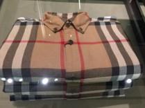 Man's shirt in popular Burberry plaid
