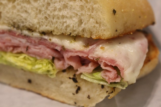 Italian Sub (AKA The Usual) -- Ham, Turkey, Genoa Salami and that great homemade dressing!