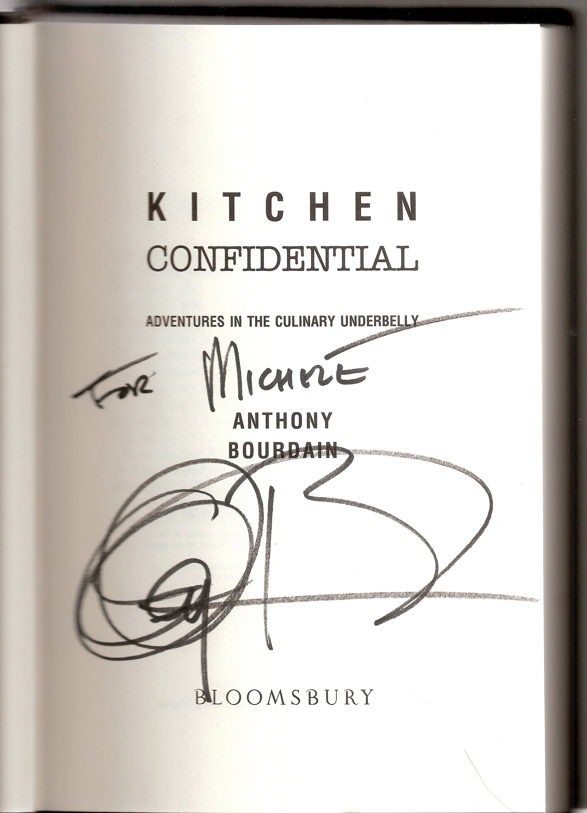 kitchen confidential book ceramic or porcelain tile for floor authors oh  the stuff of legend